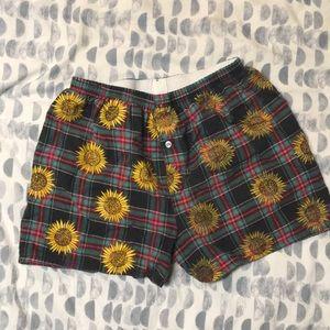 Vintage Plaid Shorts